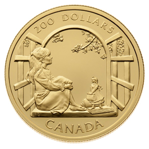 Anne of Green Gables coin