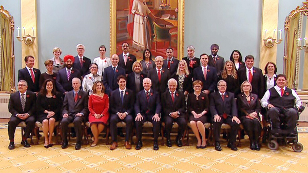 Liberal Government Cabinet 2015
