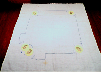 Dionne Quintuplets tablecloth