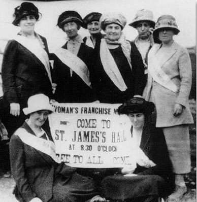 Nfld. suffragists