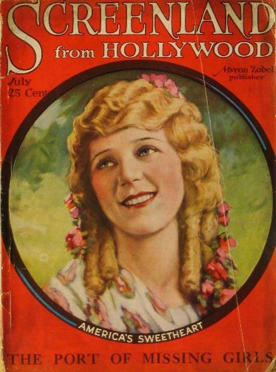 Dorothy Ford Mary Pickford Making M...