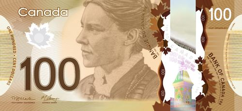 Dr. Jenny Trout on bank notes